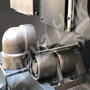 دستگاه حکاکی فلز روی زانویی و اتصالات