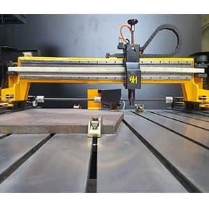 دستگاه CNC حکاکی روی فلز